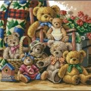Dimensions 35115 Teddy Bear Gathering